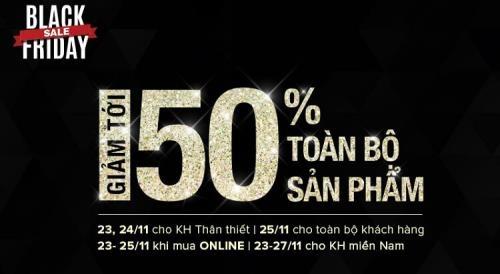 """Black Friday Việt Nam: Những địa chỉ giảm giá """"khủng"""" - 3"""